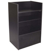 Well top register stand - black