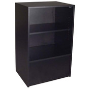 Flat top register stand - black