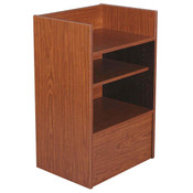 Well top register stand - cherry