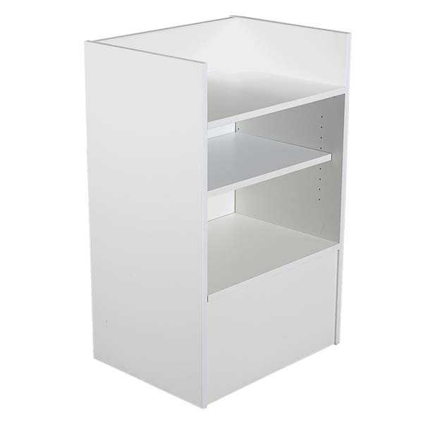 Well top register stand - white