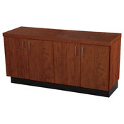"Base cabinet cherry 24""hx48""wx16""d 1 adjustable shelf"