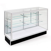 Extra Vision Economy Display Case 48 inches with light