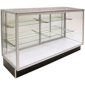 Extra Vision Economy Display Case 60 inches with light