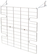 Screen for rolling rack chrome