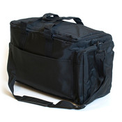 "Soft side carrying case 16""w x 9-1/2""d x 11""h black"