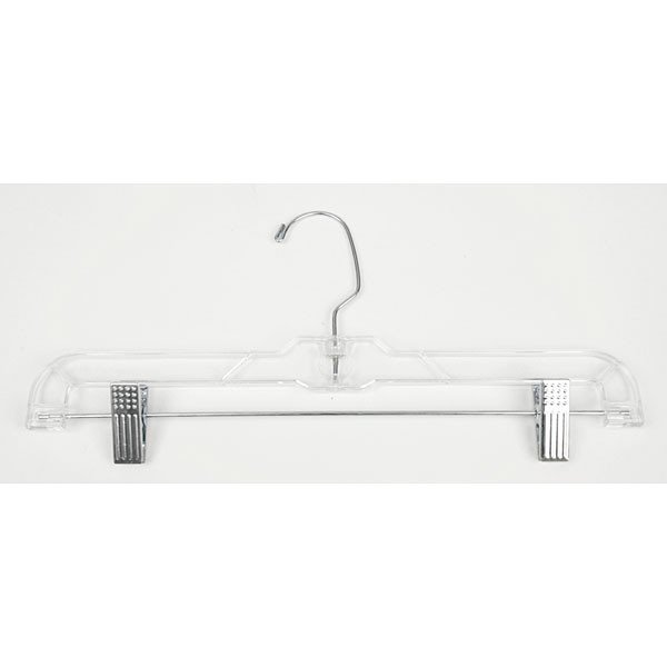 "Pant/skirt hanger 14"" - clear"