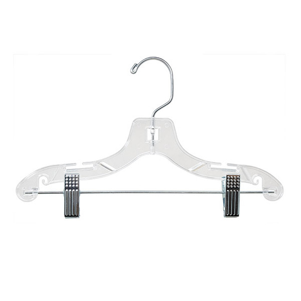 "Childs suit hanger 12"" clear"