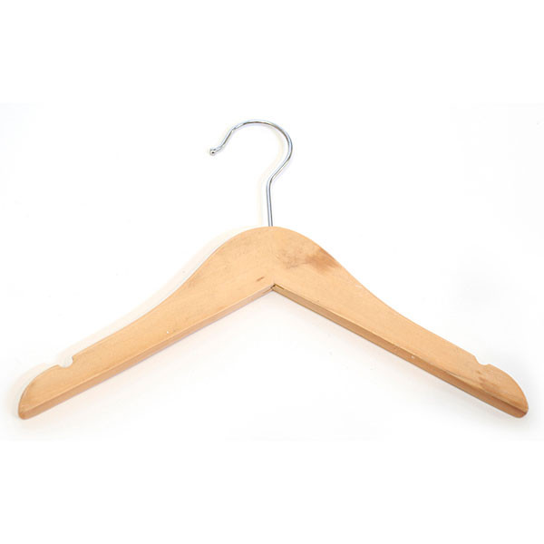 "Hanger Kids Top 11"" Natural Chrome Hook"