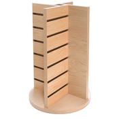 Countertop spinner 4-way display - Maple