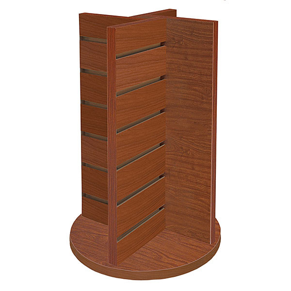 Countertop spinner 4-way display - Cherry
