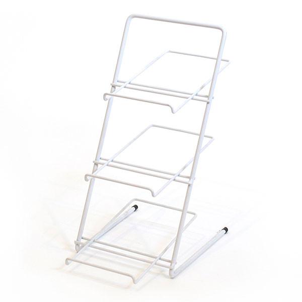 Countertop Rack Wire Slanted Shelves