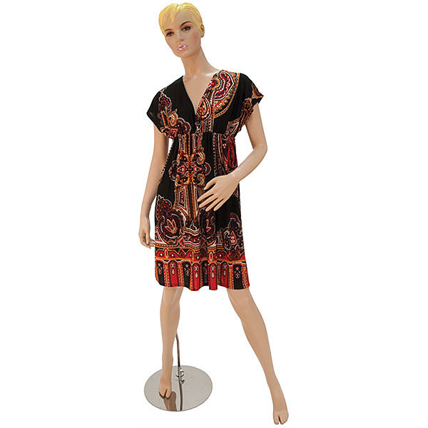 Mannequin - Female Molded Hair Fleshtone - 2