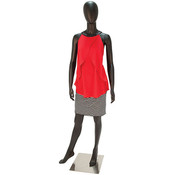 Mannequin Female No Face Black
