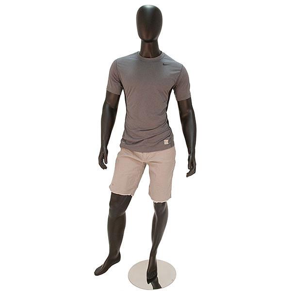Mannequin Male No Face Black