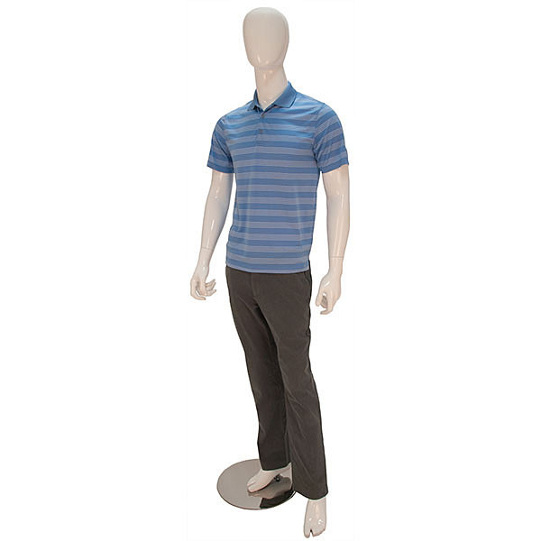 Mannequin Male No Face Glossy White
