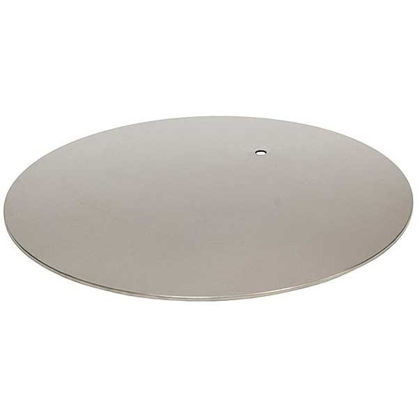 Round metal replacement base for mannequin, pole not included (see 25291)