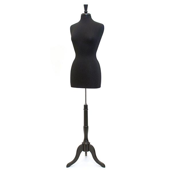 Form Womens Dressmaker Size 8 Black With Neck Block & Base