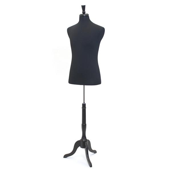 Form Mens Suit Size 42 Black With Neck Block & Base
