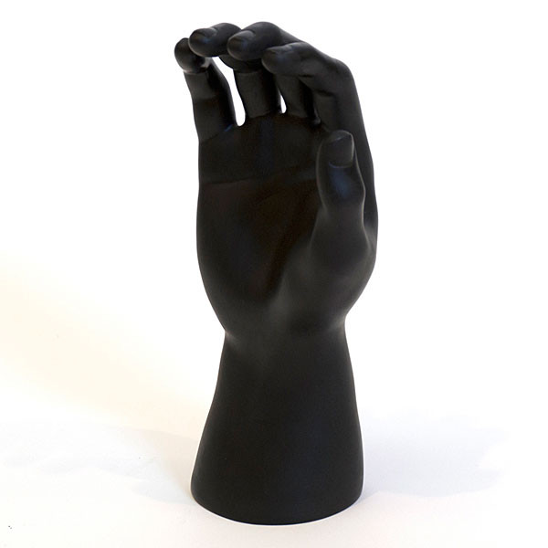 Hand Form Male Right Black