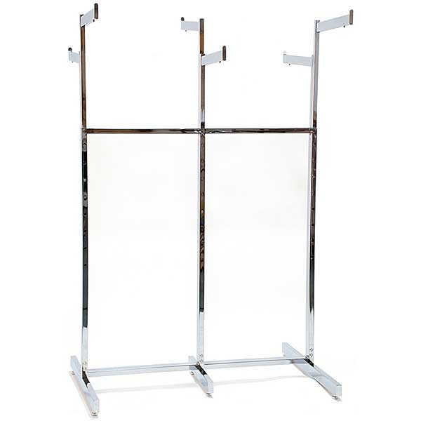 6-Way Garment Rack, Chrome