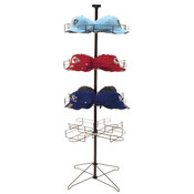 "Cap rack floor standing 64""h - black"