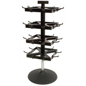 Counter top 4 tier spinner rack