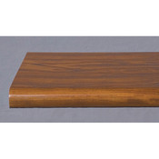 "Bullnose shelf 13""x48"" - cherry"