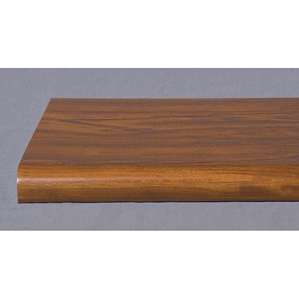 "Bullnose shelf 13""x48"" - cherry"