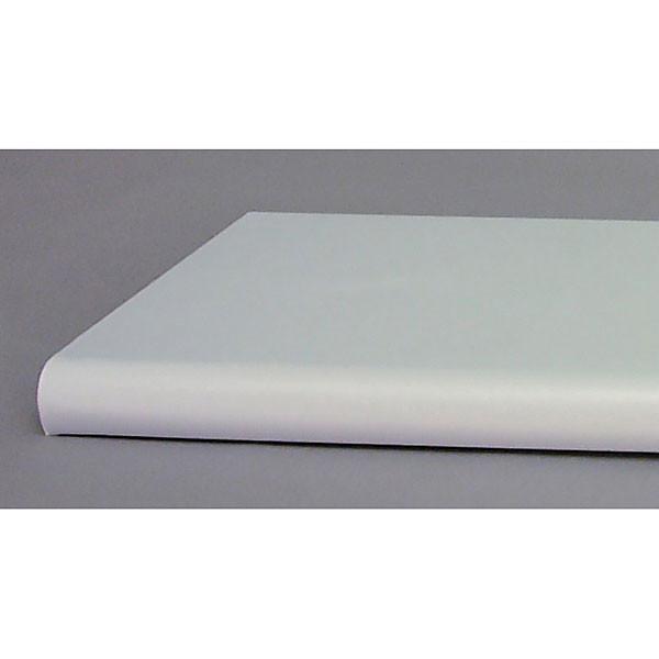 """Bullnose shelf 13""""x24"""" - gray"""