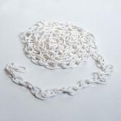 """Plastic chain 1"""" - white 9'/bag"""