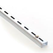 "Single slotted standard 4' long 1/2"" slot 1"" OC 16 gauge"