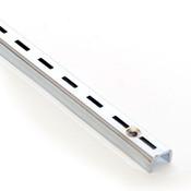 Single Slotted Standard 7 foot long - Chrome 1/2 Slot 1 OC