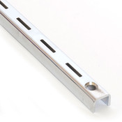 "Single slotted standard 6' long 1"" slot 2"" OC heavy duty"