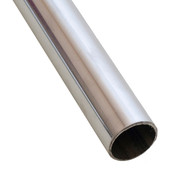 "Hangrail 1- 1/4"" round x 12' - chrome"