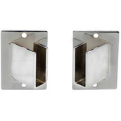 Rectangular Tube Hangrail Flange 45 degree Left/Right