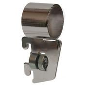 """Hangrail bracket side mount for 1-1/16"""" round hangrail 1/2"""" slot 1"""" OC standards 40 series - chrome"""