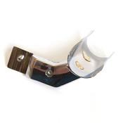 "Hangrail adapter 1-1/16"" round - chrome"