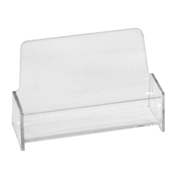 Business card holder - clear acrylic