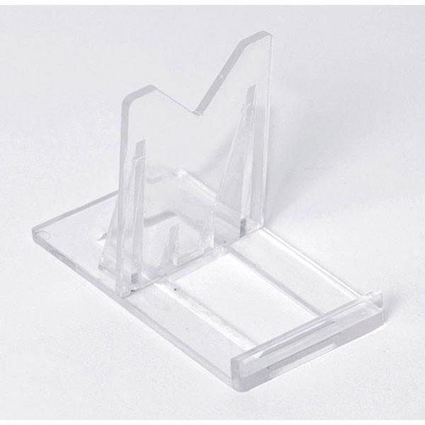 Display easel adjustable - clear plastic