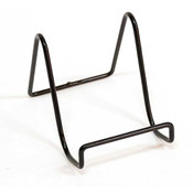 Display easel 4 x 3.5 - wire covered with black epoxy