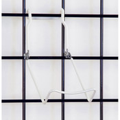 """Gridwall easel 3-1/2"""" wide base - white"""
