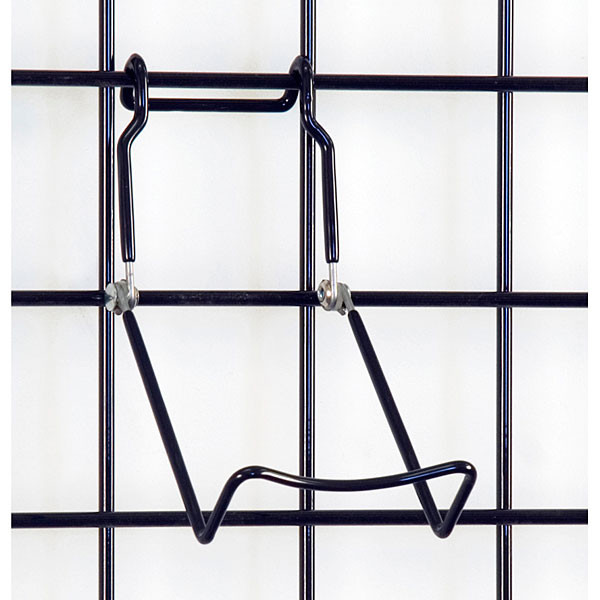 "Gridwall easel 3-1/2"" wide base - black"