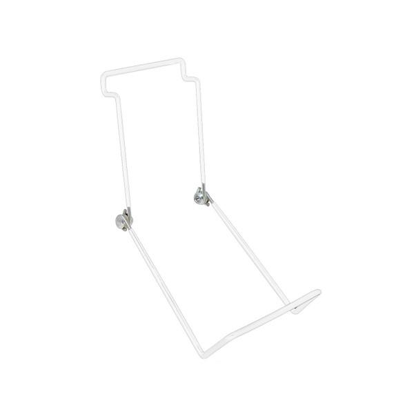 Slatwall easel - white