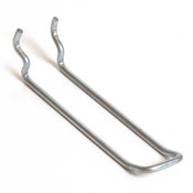 "Pegboard loop hook 4"" - zinc"