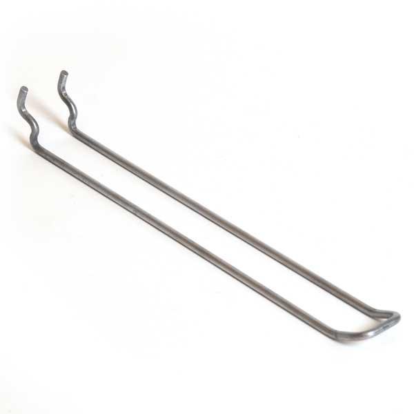 """Pegboard loop hook 8"""" - zinc"""