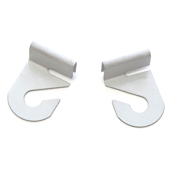Barnacle hook pair left and right - white
