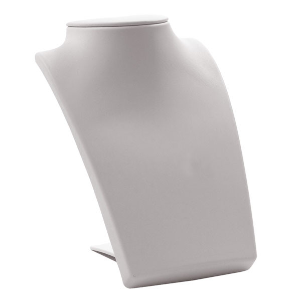 Neck Form with Retractable Stand - white