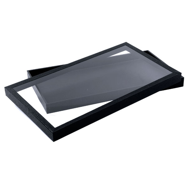 Black Display Tray with Acrylic Top
