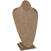 Neck Form 6 inches high - Burlap