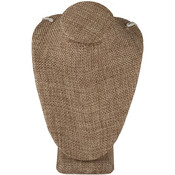 Neck Form 10.25 inches high - Burlap